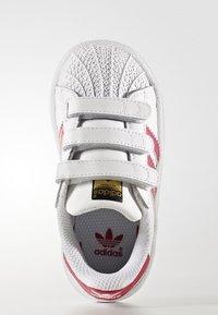 adidas Originals - SUPERSTAR CF  - Baby shoes - white/bold pink - 1