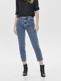 ONLY - EMILY  - Straight leg jeans - dark blue denim - 0
