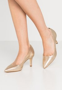 Dune London - ANDINA - Classic heels - gold - 0