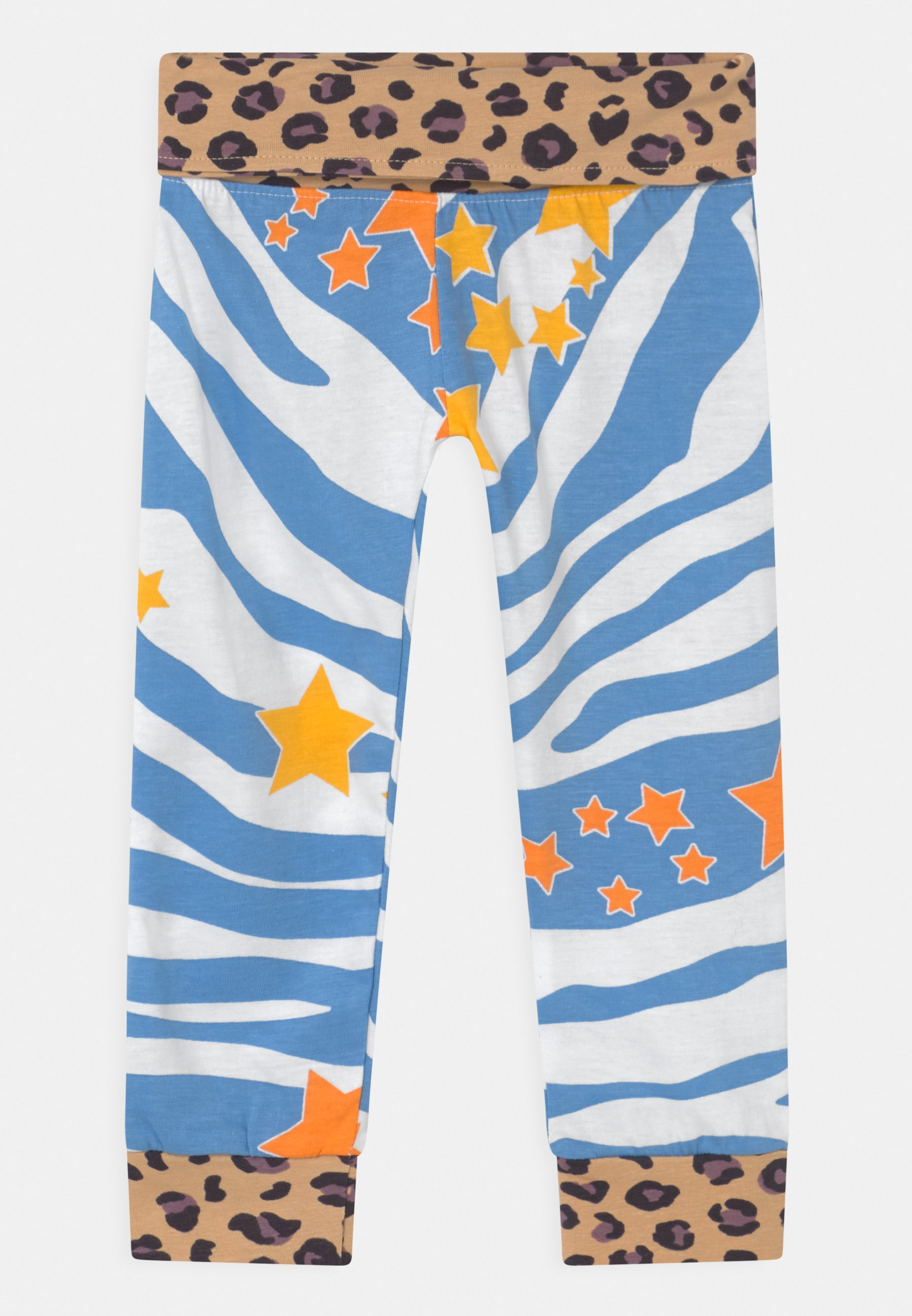 Kids AQUA ZEBRA PRINT UNISEX - Leggings - Trousers