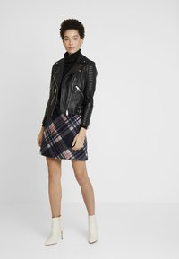 s.Oliver - KURZ - A-line skirt - navy - 1