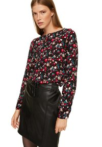 comma casual identity - Blouse - black camouflage - 0