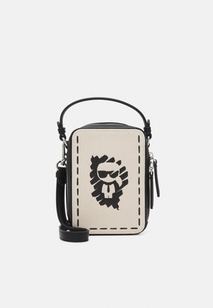 IKONIK GRAFFITI CROSSBODY - Umhängetasche - natural