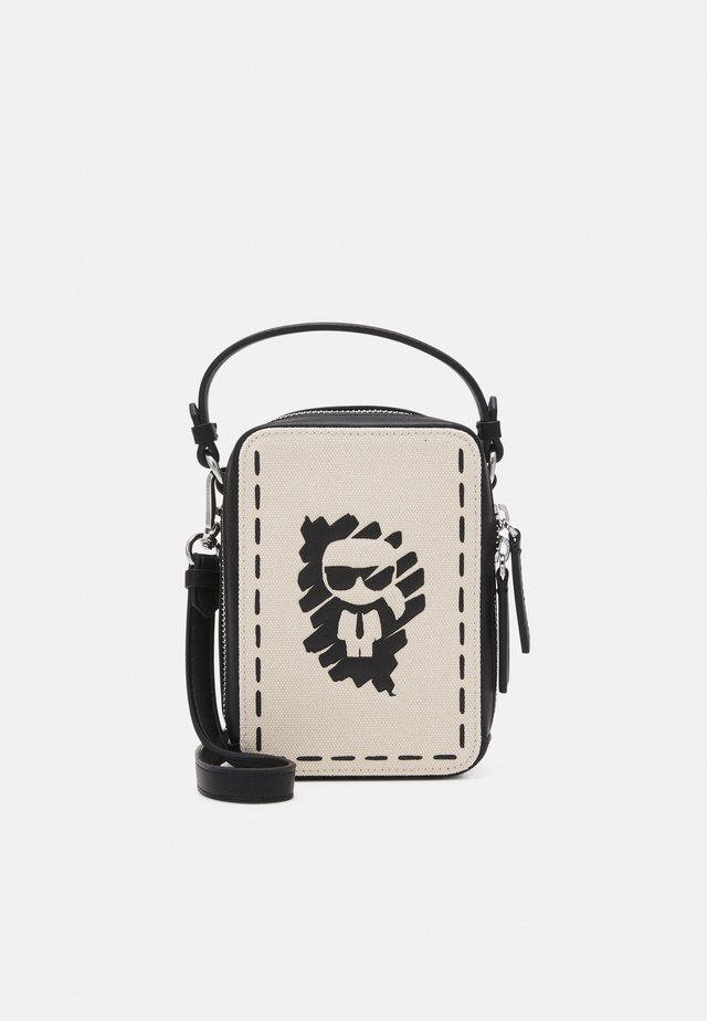 IKONIK GRAFFITI CROSSBODY - Skulderveske - natural