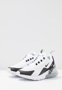 Nike Sportswear - AIR MAX 270 - Tenisky - white/black/metallic silver - 4