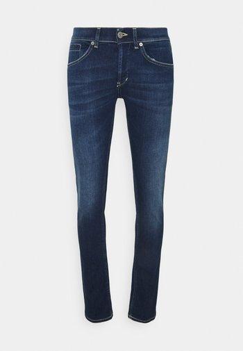 PANTALONE GEORGE - Slim fit jeans - dark blue