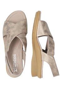 Mephisto - SANDALETTE PHARA - Sandals - dark taupe - 2