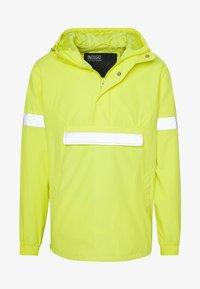 INDICODE JEANS - COLLEGE - Windbreaker - neon yellow - 3