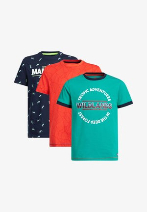 3-PACK - T-shirt con stampa - multi-coloured