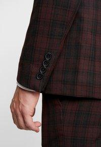 Burton Menswear London - TARTAN - Colbert - red - 4
