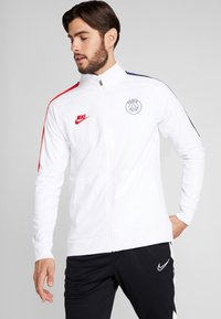 Nike Performance - PARIS ST GERMAIN - Veste de survêtement - white/university red - 0
