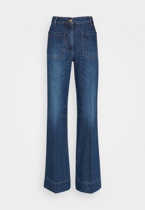 ALINA - Relaxed fit jeans - marble wash light