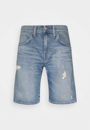 Denim shorts - night blue denim