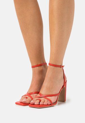TRIXIE - High Heel Sandalette - red