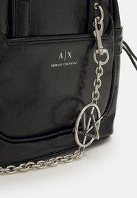 Armani Exchange - SHOULDER BAG - Kabelka - black - 5