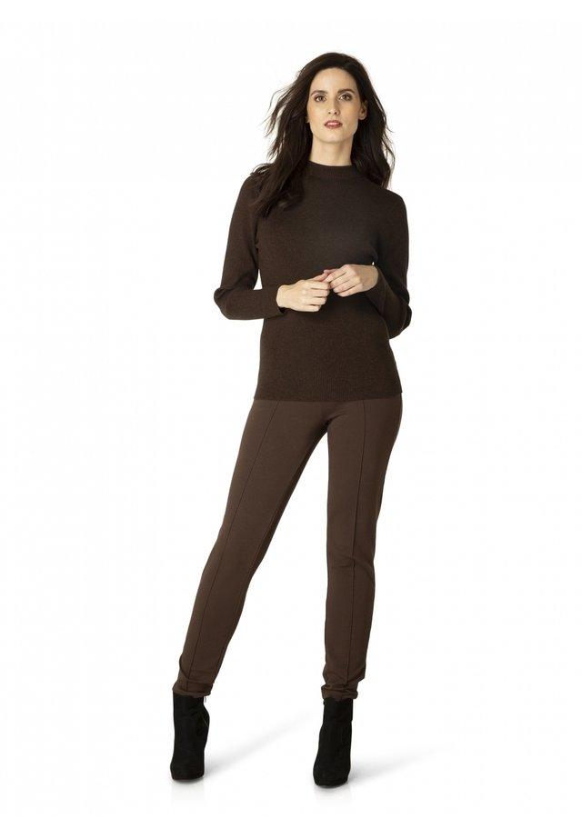 MUNICH - Legging - dark brown