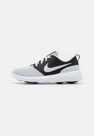 ROSHE - Golf shoes - pure platinum/pure platinum-black-white
