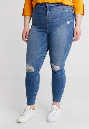 DISCO POPPY - Skinny džíny - blue