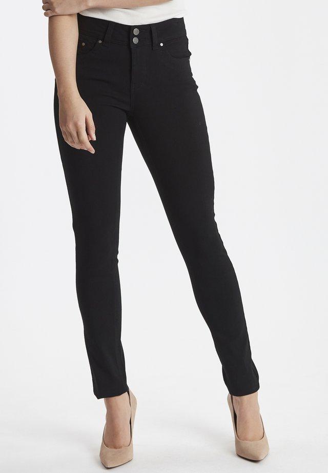 ZALIN PANTS - Jeans Skinny Fit -  black