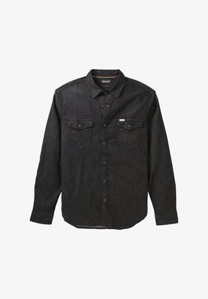 LS MUMFORD RIVER - Shirt - tarmac black