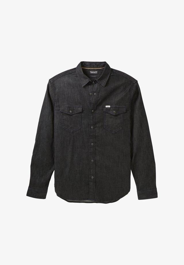 LS MUMFORD RIVER - Shirt - tarmac black