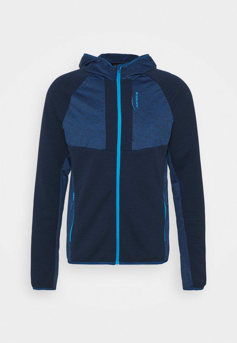 Icepeak - BATAVIA - Fleece jacket - dark blue