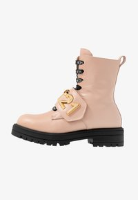N°21 - Lace-up ankle boots - pink - 1