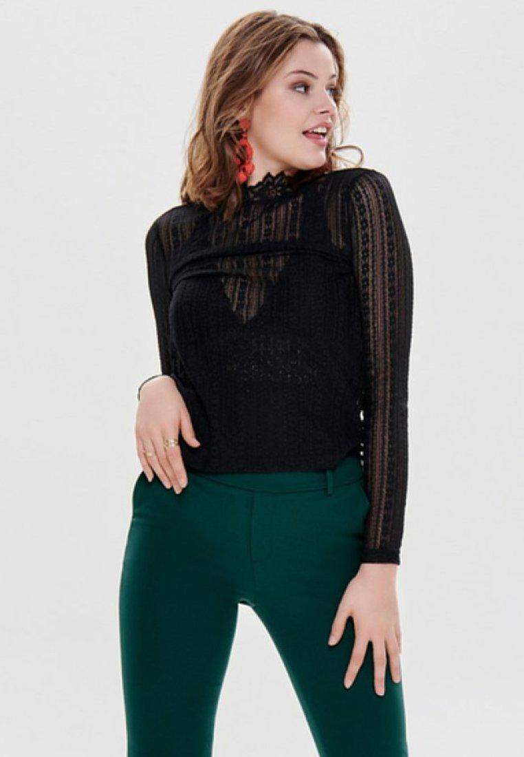 JDY - Long sleeved top - black