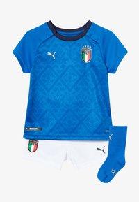 Puma - ITALIEN FIGC HOME BABYKIT SET - Sports shorts - power blue/peacoat - 3