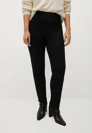 SICILIA - Trousers - schwarz