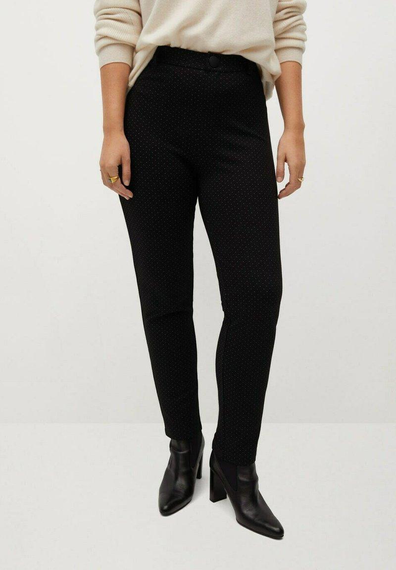 Violeta by Mango - SICILIA - Trousers - schwarz