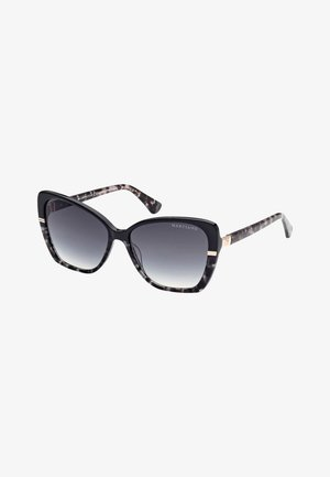 SONNENBRILLE SCHMETTERLINGSMODELL - Sunglasses - schwarz