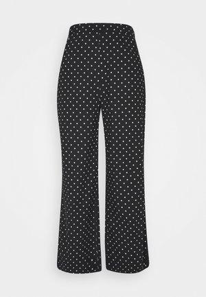 MARIA - Trousers - black