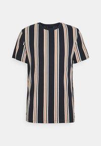Jack & Jones - JORHURRY TEE CREW NECK - T-shirt con stampa - navy blazer - 0