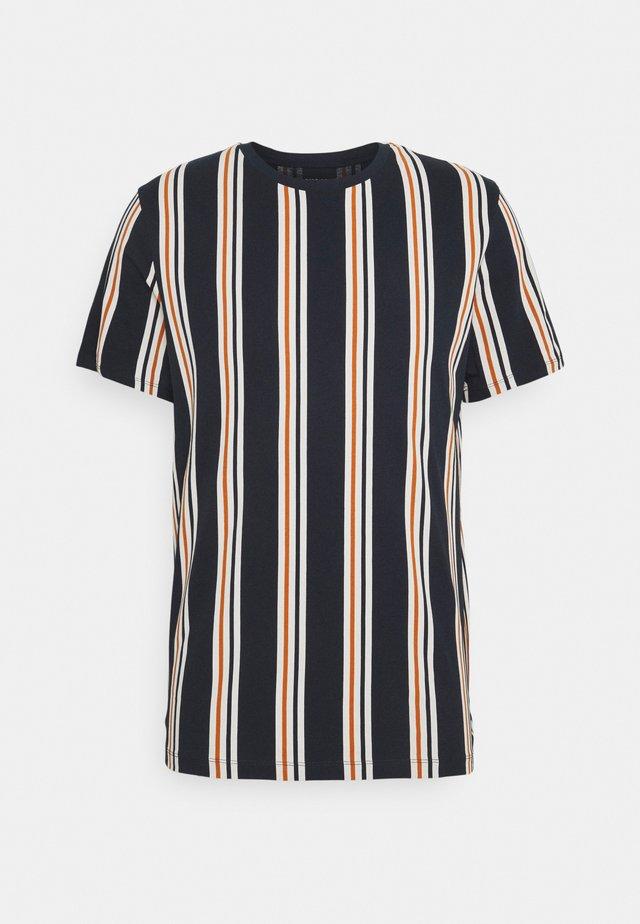 JORHURRY TEE CREW NECK - T-shirt print - navy blazer