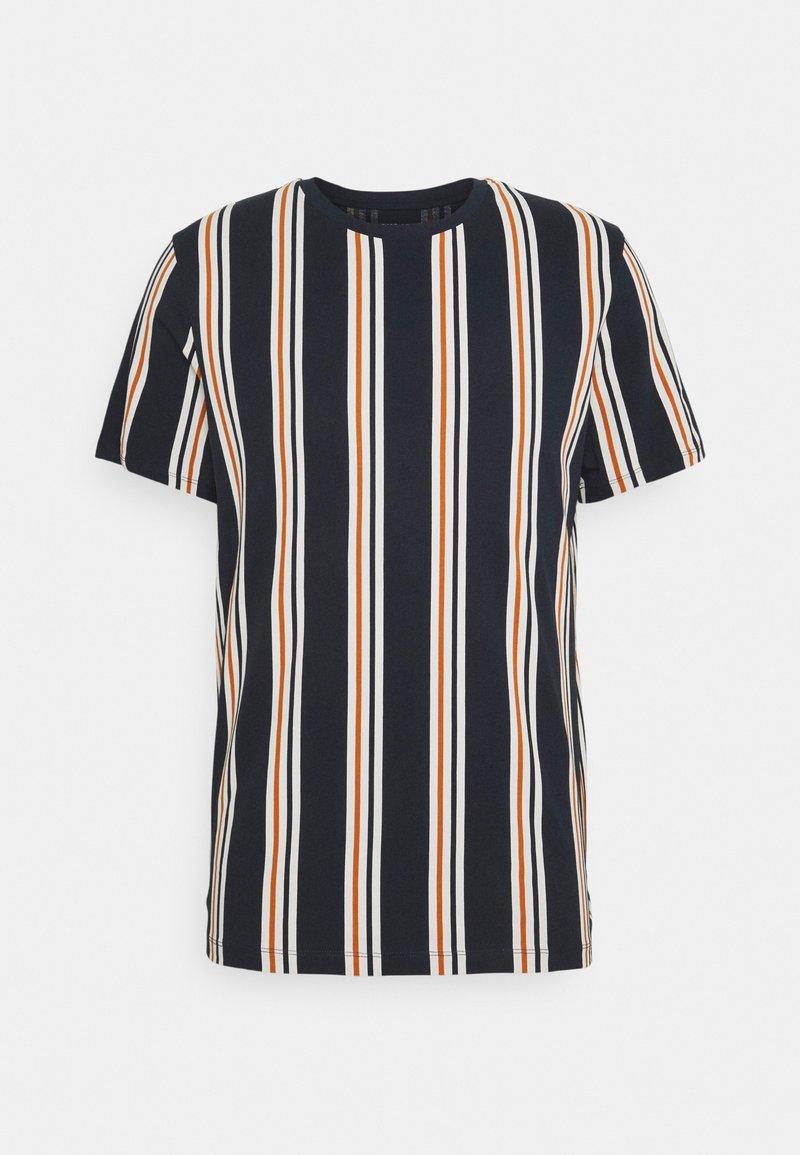 Jack & Jones - JORHURRY TEE CREW NECK - T-shirt con stampa - navy blazer