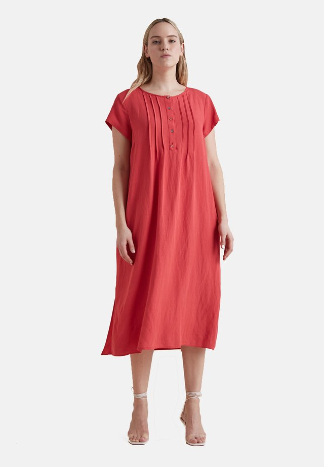 Day dress - rosso