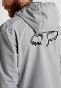 Fox Racing - RANGER WATER JACKET - Waterproof jacket - grey - 5