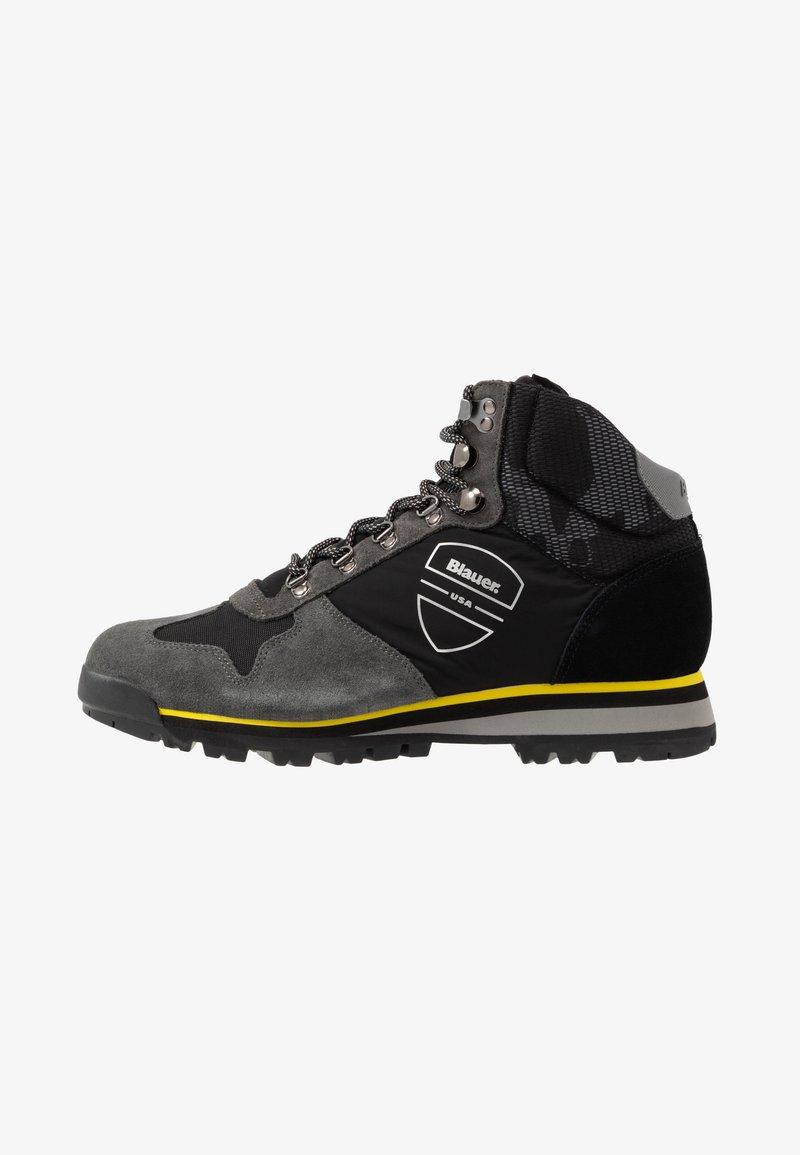 Blauer - AKRON - Lace-up ankle boots - black