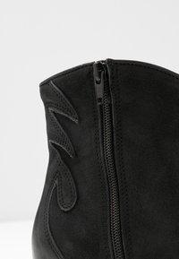 Felmini - LAREDO - Cowboy/biker ankle boot - morat - 2