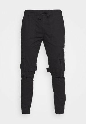 JACK - Pantalones cargo - black