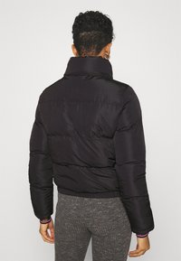 SIKSILK - ROMA CROP JACKET - Winter jacket - black - 2