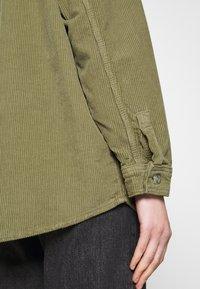 Topshop - Button-down blouse - khaki - 4