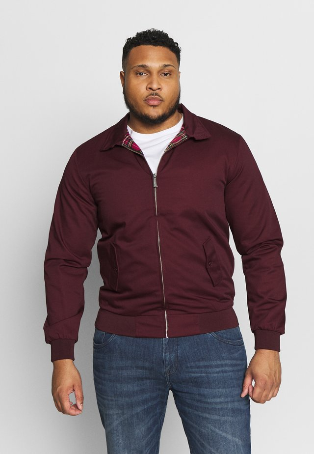 Bomber Jacket - bordeaux