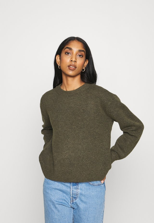 VMPHILINE O NECK - Jumper - grape leaf melange