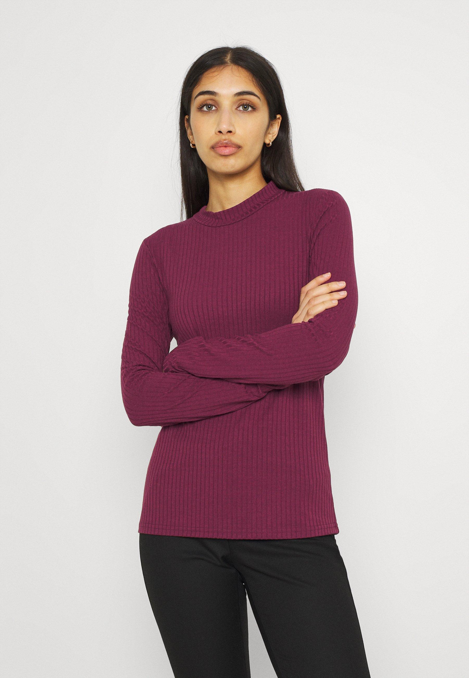 Donna PCKYLIE T NECK - Maglietta a manica lunga