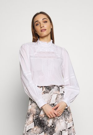 MOCK NECK - Blouse - optic white