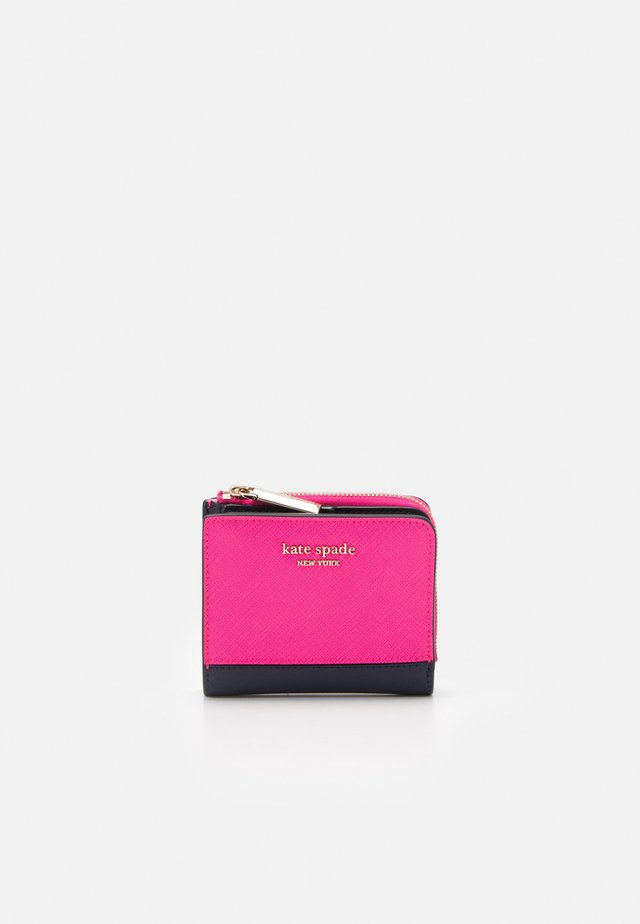 SPENCER SMALL BIFOLD WALLET - Lommebok - shocking magenta/ multi