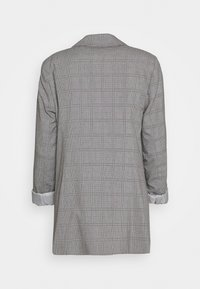 Wallis - CHECKED - Short coat - grey - 1
