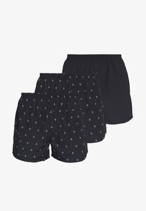 3 PACK - Boxer shorts - dark blue